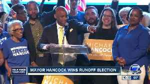 Michael Hancock claims victory in Denver mayoral runoff election, other races still too close to call [Video]