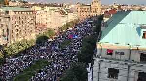 Thousands of Protesters Call for Resignation of Czech Prime Minister Babis [Video]