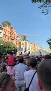 Crowd of Thousands Calls For Czech Prime Minister's Resignation in Prague Protests [Video]