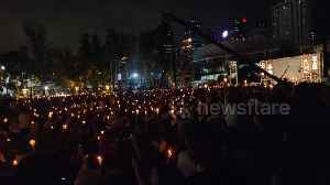 Hong Kong's Victoria Park a sea of candlelight on 30th anniversary of Tiananmen Square [Video]