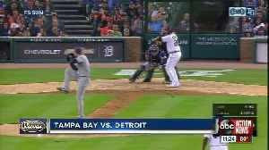 Miguel Cabrera drives in 5 runs as Tigers end home losing streak with 9-6 win over Rays [Video]