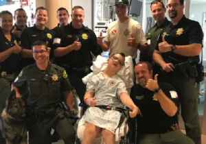 California Deputies Pay Special Visit to Terminally Ill Boy Who Dreams of Being Police Officer [Video]