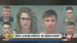 Florida newlyweds and four weddings guests arrested for breaking into former elementary school [Video]