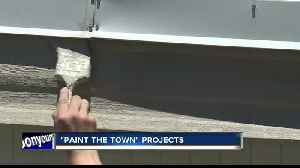 """Paint the Town"" helps out dozens of locals [Video]"