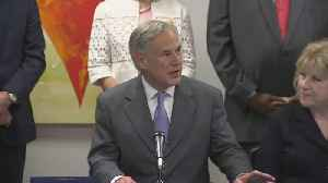 News Conference: Texas Governor Abbott Signs Rape Kit Backlog Bill In Dallas [Video]
