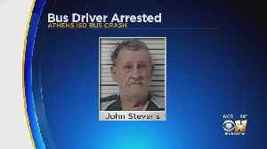 Athens School Bus Driver John Stevens Indicted For Criminally Negligent Homicide In Bus-Train Crash [Video]