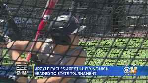 Argyle Eagles Flying High Headed To State Tournament [Video]