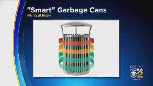 New Smart Garbage Cans Deployed Across Pittsburgh [Video]