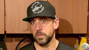 Green Bay Packers quarterback Aaron Rodgers pokes fun at head coach Matt LaFleur with 'script' about basketball injury [Video]