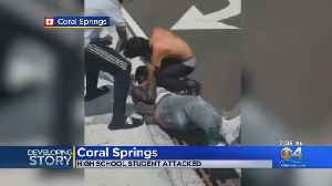 Coral Springs Police Release Video Of A Young Man Being Attacked By A Group Of Assailants [Video]