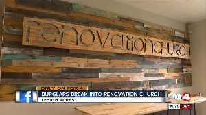 Burglars broke into a Lehigh Acres church [Video]