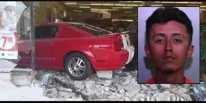WATCH: Driver crashes Ford Mustang through store in downtown Haines City [Video]