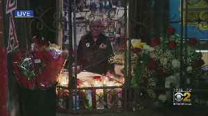 Mourners Gather At Francisco Aranda's Store After He Was Found Dead In His Crete Home [Video]