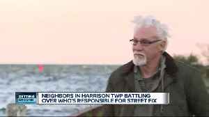 Neighbors in Harrison Township battling over who's responsible for street fix [Video]