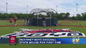 McKinney Boyd Broncos Head To State Baseball Tournament For First Time [Video]