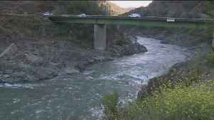 Crews Search For Man Swept Away In River [Video]