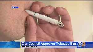 Beverly Hills Become First US City To Ban Sales Of Tobacco Products [Video]