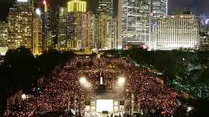 Massive crowds at Hong Kong Tiananmen vigil on 30th anniversary [Video]