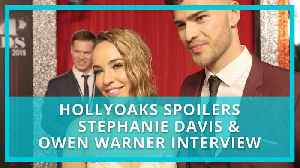 Hollyoaks spoilers: Steph Davis on Sinead's prison drama and off screen romance with Owen Warner [Video]