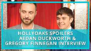 Hollyoaks spoilers: Gregory Finnegan on James's shock and Aedan Duckworth on Ollie surviving abuse [Video]