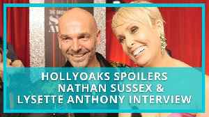 Hollyoaks spoilers: Lysette Anthony and Nathan Sussex on impact of football abuse plot [Video]