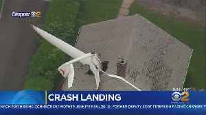 Pilot, Homeowner Survive After Plane Crashes Into CT House [Video]