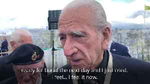 Army veteran's painful recollection of preparing solider for burial after D-Day [Video]