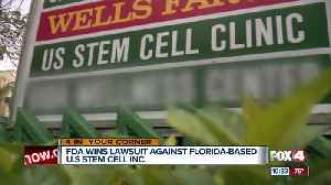 FDA wins case against Florida stem cell clinic where several patients went blind [Video]