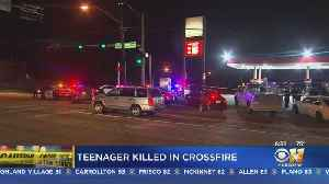 13-Year-Old Fatally Shot In Crossfire Between 2 Vehicles In Dallas [Video]