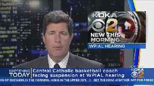 Central Catholic Boys Basketball Coach Faces Suspension [Video]