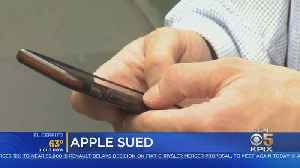 News video: Developers Sue Apple Over App Store Costs