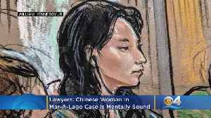 Lawyers: Chinese Woman In Mar-A-Lago Case Is Mentally Sound [Video]