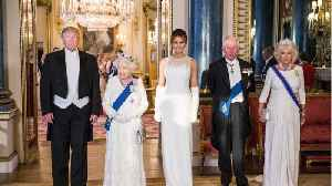 Donald Trump Served Beef And Vanilla Ice Cream To Prince Charles And The Duchess Of Cornwall [Video]