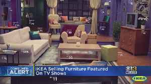 IKEA Selling Furniture Featured On TV Shows [Video]