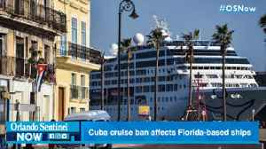 Trump orders halt of cruises to Cuba, affecting many Florida-based ships [Video]