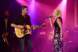 Gwen Stefani excited to work with best friend Blake Shelton [Video]