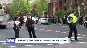 Possible gas leak at Buffalo City Court [Video]