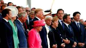 World leaders mark 75th anniversary of D-Day landings [Video]