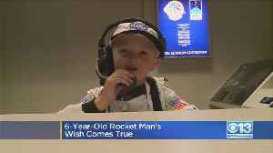 Boy Gets His Out-Of-This-World Wish [Video]