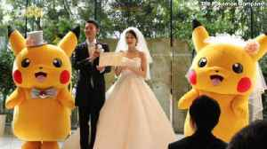 Pikachu Can Now Be Your Best Man With an Official Pokémon Wedding [Video]