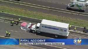 1 Killed In Crash On I-820 Express Lanes In Fort Worth [Video]