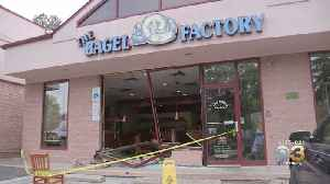 Car Crashes Into Bagel Shop In Delaware County [Video]