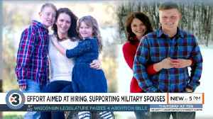 Wisconsin becomes first state designated for military spouse services [Video]