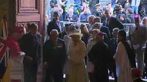 Prince of Wales attends D-Day service at Bayeux Cathedral [Video]