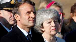 May and Macron in France to mark 75th D-Day anniversary [Video]