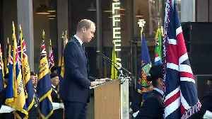 Prince William attends D-Day service at National Arboretum [Video]