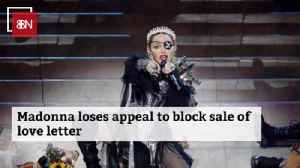 Madonna's Breakup Love Letter Is Still At Auction [Video]