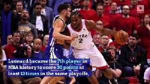 Raptors Defeat Shorthanded Warriors in NBA Finals Game 3 [Video]