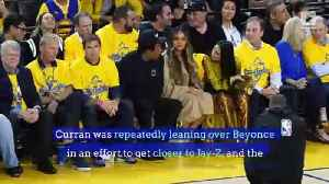 Beyonce's Reaction After Woman Leans Over Her to Speak to Jay-Z Starts Drama [Video]