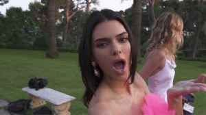 Kendall Jenner finally collaborates with younger sister Kylie Jenner [Video]